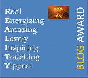 The Reality Blog Award